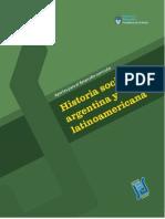 historia social argentina y latinoamericana