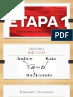 Dpa Etapa 1 Sesion 7 Radicales