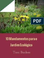 10 Mandamentos Do Jardim_Toni Backes