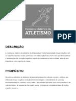 Contexto histórico do atletismo