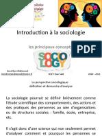 Cours 1_La Perspective Sociologique