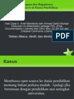 Open Source Pendidikan Seminar Linux STMIK