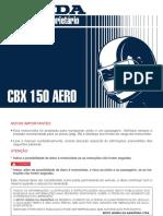 MP CBX150 (Todas) D1201-MAN-0002