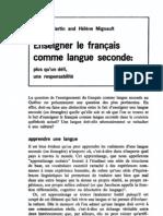 materiel francais au canada