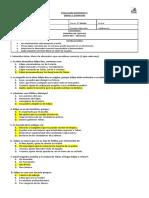 Bosquejo Control de lectura 1° Medio  Edipo Rey - Sófocles