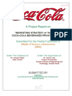 Coka Cola Report