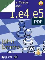 Primeros Pasos - 1.e4 e5 - en español - A5 - 19-01-2021