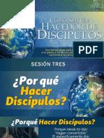 SESION 3 - PORQUE HACER DISCIPULOS