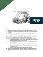 2008-2009 Suspension Design Report