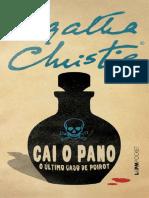 Cai o pano - O ultimo caso de P - Agatha Christie