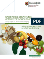 Broschuere Vegetarisch SVP