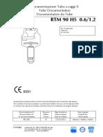 Tube Documentation - RTM 90 HS 06_12