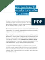 Tres armas para frenar los abusos sexuales contra niños en Colombia-ACTIVIDAD 4