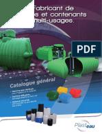 Catalogue Plasteau Recuperation Pluie Industrie Collectivite