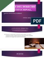 1.3 FUENTES DE LAS CONSTITUCIONES11