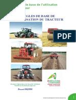 Règles de Base de l'Utilisation Du Tracteur