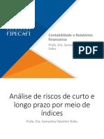Apostila - Contabilidade e Relatórios Financeiros - Índices