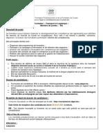 RH 70 2021_Formateur Transport et Logistique TS BAC +2