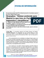 Francisco Granados presenta a Miguel Ángel López al Ayto de Parla