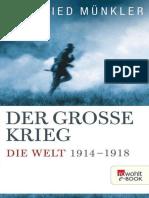Herfried Münkler - Der Große Krieg - Die Welt 1914 Bis 1918 (2013)