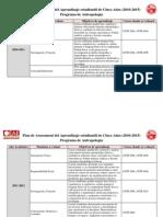 Plan de Assessment de 5 años - Antropologia