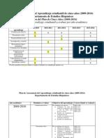 Plan de 5 años - Estudios Hispanicos (2010-2011)