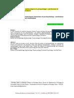 Caminhos Epistemológicos da Psicopatologia