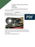 TALLER.SISTEMAS DE TRANSMICION