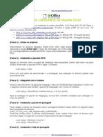 Instalação do LibreOffice no Ubuntu 10.10