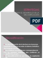 ESTRATEGIAS DE DECODIFICACION