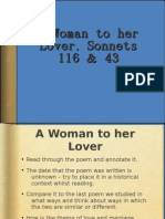 A Woman To Her Lover