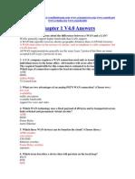 CCNA 4 Chapter 1 V4.0 Answers 2011