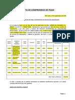 CARTA DE COMPROMISO DE PAGO FORMATO