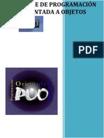 Programación Orientada a Objetos V