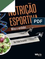 Nutrição Esportiva - 1ª Edição - Ney Felipe Fernandez - 2018