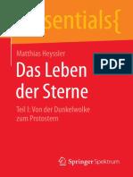Matthias Heyssler (auth.) - Das Leben der Sterne_ Teil I_ Von der Dunkelwolke zum Protostern (2015, Springer Spektrum) - libgen.lc