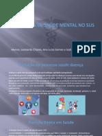 Programa de Saúde mental no Sus