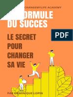 eBook La Formule Du Succès PDF 2021