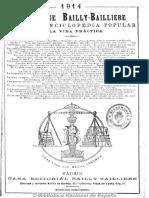 1914-Almanaque Bailly-Bailliere. 1914
