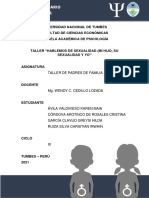 MODELO DE TALLER DE SEXO Y SEXUALIDAD