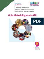 Guía metodológica capacitación 2021  AEP