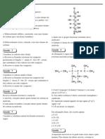 exercicio formula estrutural