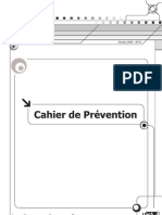 cahier prévention