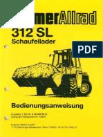 Kramer Allrad 312SL-BA