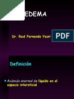 Edema Semio Clase