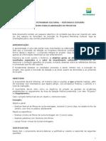 PPC 2011 Roteiro de Elaboracao de Projetos