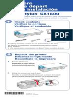 Epson Stylus CX1500