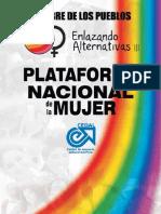 Plataforma Nacional de La Mujer 2008