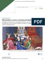 Historiadores Contra a Má Fama Da Idade Média _ Cultura _ EL PAÍS Brasil