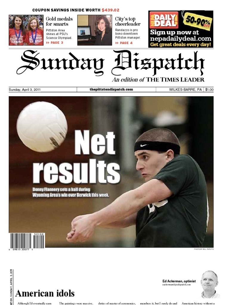 Pittston sunday dispatch 4 13 2011 loans finance general fandeluxe Images
